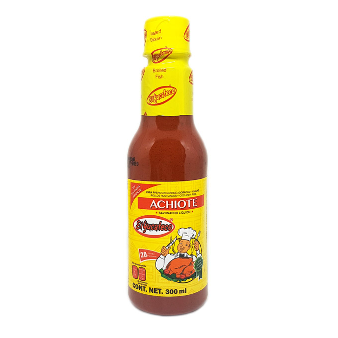 Achiote liquido 300ml 300ml El Yucateco