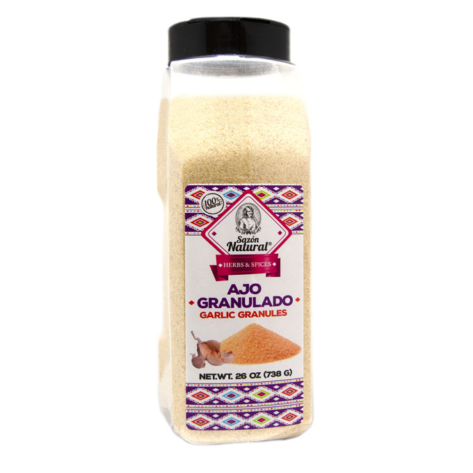 Ajo granulado 738g 738g Sazon natural