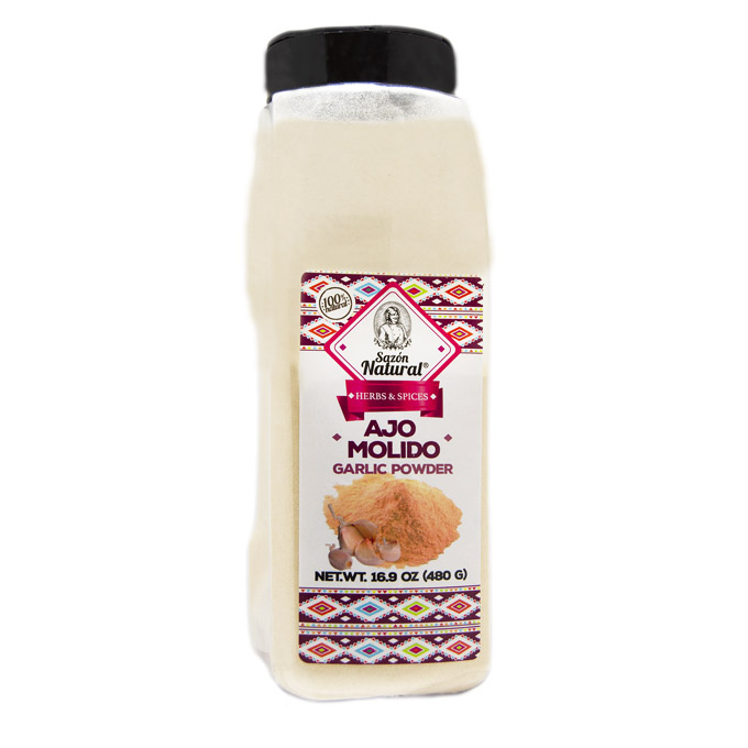 Ajo molido 480g 480 Sazon natural