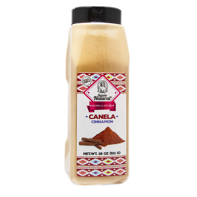 Canela molida 511g 511g Sazon natural