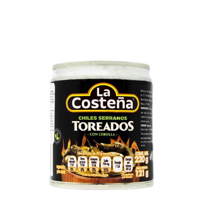 Chiles Serranos Toreados 220g