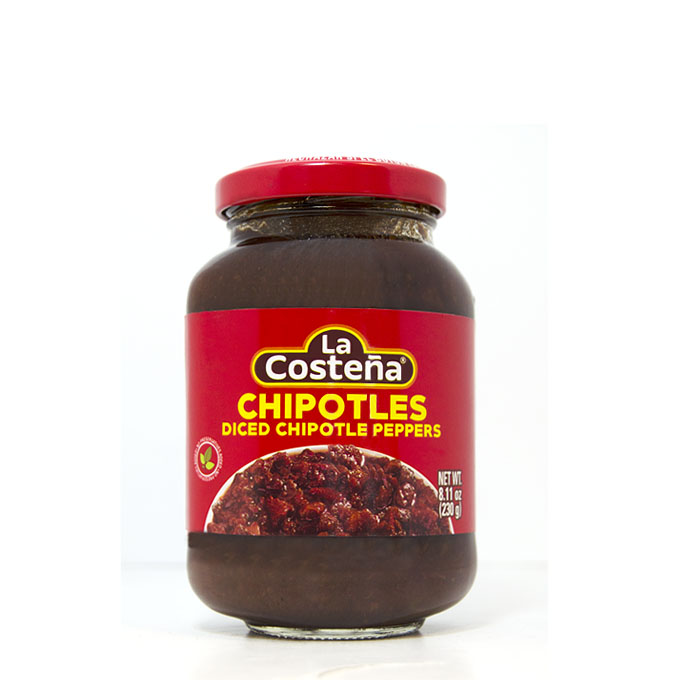 Chipotles Adobados Troceados 230g 230g La Costeña