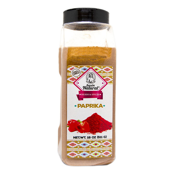 Paprika 511g 511g Sazon natural