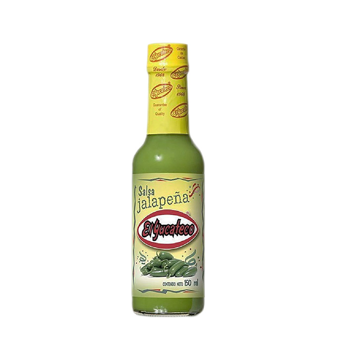 Salsa jalapeña 150ml 150ml El Yucateco